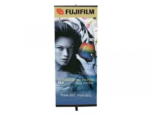 PRONTO Retractable Banner Stand - Black