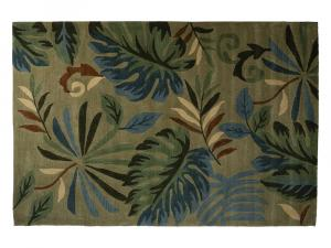 Oahu Floral Rug (CEAC-016) -- Trade Show Rental Furniture