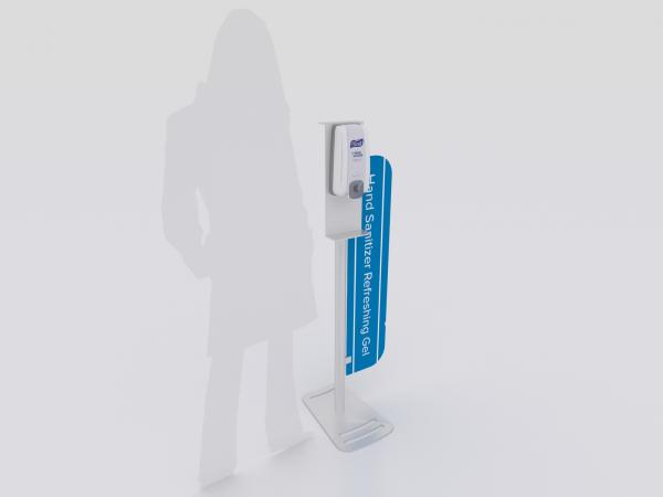 MOD-9001 Hand Sanitizer Stand with Graphic  -- Image 1