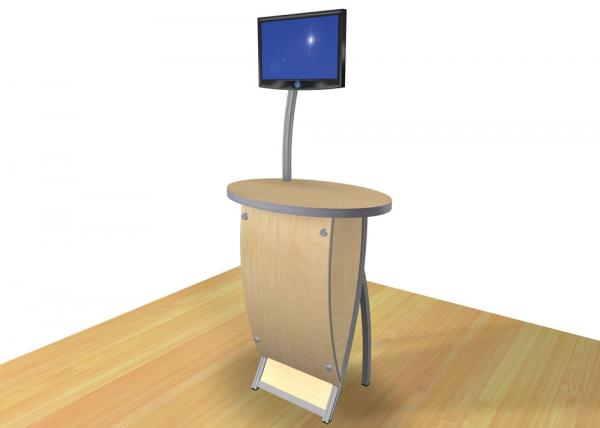 VK-1612 Trade Show Workstation or Kiosk -- Image 2