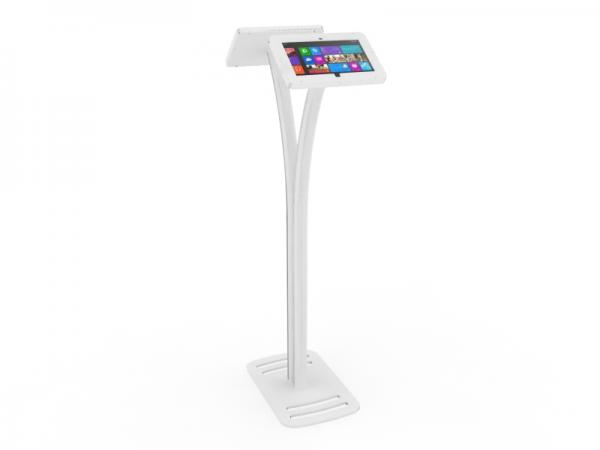 MOD-1334M Portable Surface 2 Kiosk -- White