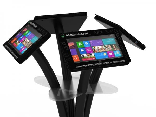 MOD-1347M Portable Surface 2 Kiosk with Graphics