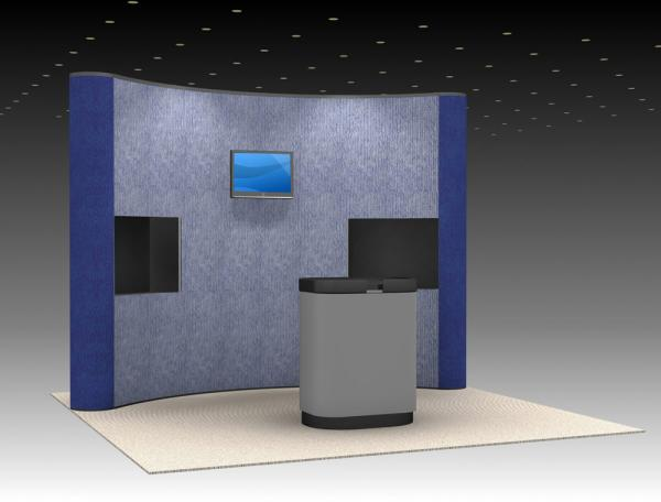 QD-115 Trade Show Pop-up Display