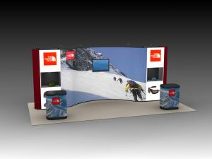 QD-222 Tradeshow Pop Up Display -- Image 1