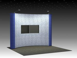 QD-121 Trade Show Pop-up Display