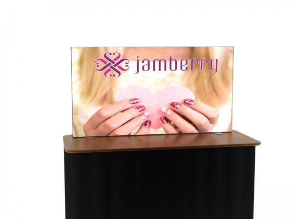 VK-0003 Backlit Trade Show Table Top -- Image 1